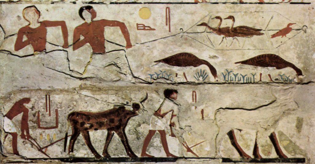 mısır mezar duvar resmi