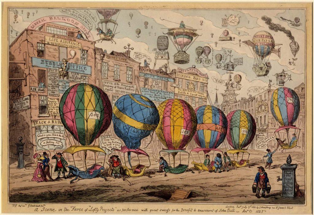 balonlu karikatür